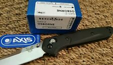 BENCHMADE OSBORNE 940-2  G10 HANDLE SATIN PLAIN Blade CPM-S30V KNIFE NIB EDC