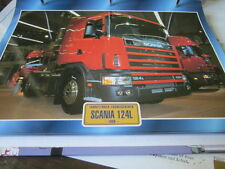 Super Trucks Frontlenker Schweden Scania 124L, 1995