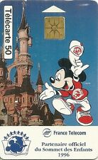 RARE / CARTE TELEPHONIQUE - MICKEY : WALT DISNEY / PHONECARD TELEPHONE CARD