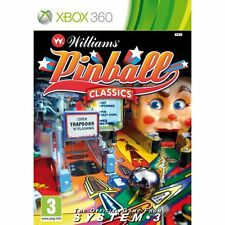 Microsoft XBOX 360 Spiel William Pinball Classics Hall of Fame Williams *NEU*NEW