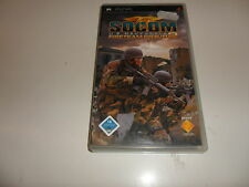 PlayStation Portable PSP  Socom - U.S. Navy Seals Fireteam Bravo 2