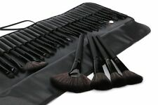 32pcs Black Pro Pouch Bag Case Superior Soft Cosmetic Makeup Brush Set Kit USA
