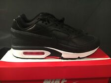 NIKE AIR MAX BW PREMIUM BLACK BRIGHT CRIMSON UK12819523-006