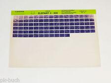 Microfich Ersatzteilkatalog Cagiva Elefant 2 / 200 Stand 07/1987