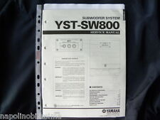 Yamaha   YST-SW800 Factory Original Service Manual New
