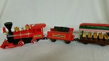 Walt Disney World Railroad Train G Playset Locomotive, Coal and Passenger Cars