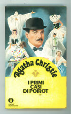 CHRISTIE AGATHA I PRIMI CASI DI POIROT OSCAR MONDADORI GIALLI 20 1981