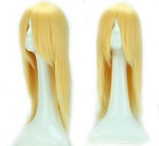 UPS ship fancy cosplay party costume wigs long hair full head costume wig cos a8