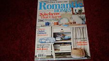 September 2016 Romantic Homes Fall magazine Issue Kitchens that charm Updates
