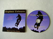ORPHAN COLOURS Won't Let You Down (Radio Edit) promo CD Noah And The Whale Ahab