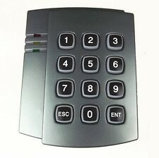 13.56Mhz MF1 IC keypad wiegand26 dual Led 12V Reliable RF Contactless Reader
