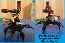 Custom Lego Star Wars Darth Bane, SITH VENGEANCE Droid!!! Black