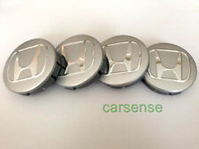 4 x HONDA Wheel Center Centre Hub Caps 60mm chrome Logo Emblem