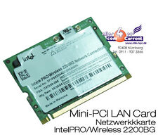 Wi-Fi LAN Card Intel Pro wireless 2200gb wm3b2200bg c59689-003 c72994-001 WiFi
