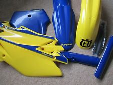 HUSQVARNA PLASTICS AND DECAL KIT   CR 125 250 360  TC 250 450 510