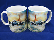 BOEING B17 FLYING FORTRESS VINTAGE AIRPLANE AIRCRAFT WW 2 MUG