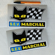 S.e.v. marchal stickers decals alpine renault A110 A310 course rallye le mans