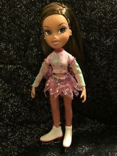 Bratz Doll Yasmin Ice Skating Champion In Original Clothes And Hairstyle