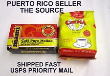 Cafe Puerto Rico Mami Crema Coffee Caribbean Hot Roasted Beverage Drink 6 pks