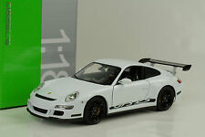 2007 Porsche 911 997 GT3 RS white weiss 1:18 Welly