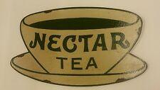nectar tea vintage repro advertising sign