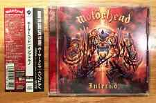 Motorhead - Inferno + 1 Japan CD w/ OBI (Autographed by Lemmy, Mikkey & Philip)