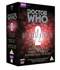Doctor Who Revisitations Vol.2 R4 DVD Box Set Seeds Of Death Carnival of Monster