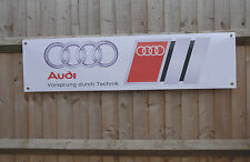 Audi pvc banner sign for workshop garage showroom