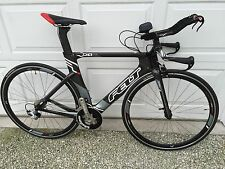 "Felt DA4 Carbon Triathlon Bike - Zero ""0"" miles on components - Size 51"