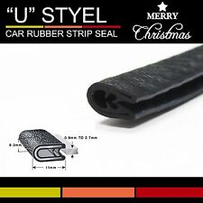 3M Car Truck Door Edge Trim Lock Rubber Seal Strip All Weather Sound Control