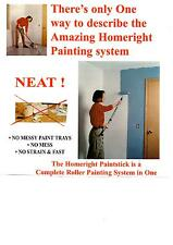 Paintstick Go Roller. Fill from can No Drips-bonus handle & clean tools $49