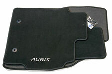 Genuine Toyota Auris Car Textile Floor Carpet Mat Set 2010 2012 Anthracite New