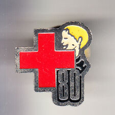 RARE PINS PIN'S .. ONG MEDECINE CROIX ROUGE FRANCAISE COMITE SOMME 80 ~BU