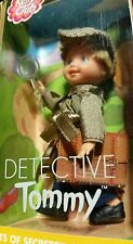 Free Shipping! Rare! 2001 NIB Kelly Club Detective Tommy Mattel Barbie Friends