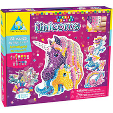The Orb Factory 67182 Sticky Mosaics® Mosaikbastelset Mosaik Einhorn Unicorns