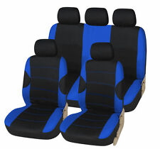 TOYOTA COROLLA VERSO 02-03 RACING BLUE SEAT COVER SET