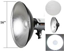"Pro 16"" Interchangeable Beauty Dish Photo Studio for Bowens"