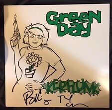 "Green Day BILLIE JOE ARMSTRONG/TRE COOL Dual Signed ""KERPLUNK""  Vinyl  Album"