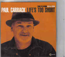 Paul Carrack-Life s Too Short Promo cd single