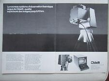 9/1984 PUB OLDELFT DELFT ARGUS OBSERVATION THERMIQUE / MAGNAVOX RADIO JEEP AD