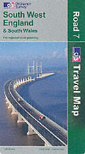 Ordnance Survey South West England and South Wales (Road Map) Very Good Book
