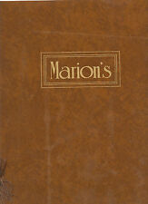 Historical Westminister, Colorado Restaurant Menu-Marion's-Ranch Country Club