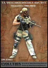 1/35 Scale Resin kit  U.S. Special forces operator in fight. Set-2 (Afghanistan