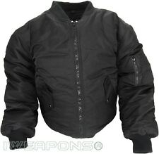 Undercover Flight Jacket Coat Concealable Bulletproof VEST IIIA/3A - Black - 2XL