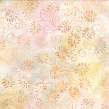 Wilmington Batik 22120-308 Light Pink Dancing Leaves Batik