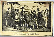 CPA PARIS EXPOSITION PHILATELIQUE 1941  bourse aux timbres 1860   266CA52