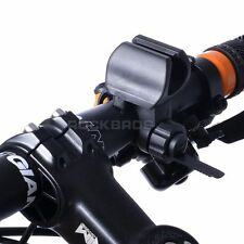 Letdooo Cycling Bike Handlebar Easy Torch Bracket Lamp Holder Black