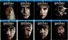 Harry Potter Royal SteelBook Collection 1 2 3 4 5 6 7 8 w/ Tin Case [Blu-ray]