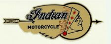 """ INDIAN MOTORCYCLE "" VINYL DECAL STICKER Scout Chief CAFE RACER ARIEL BSA HOG"
