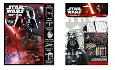 Official Disney Star Wars Busy Pack & Colouring Set **NEW**